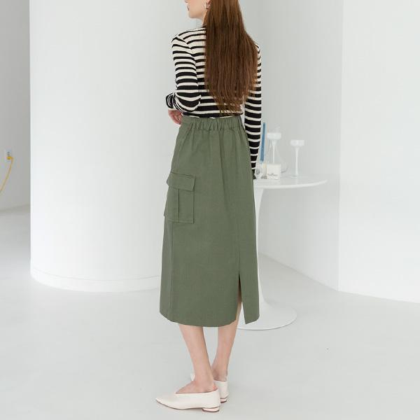 (SK-3597)ポケットミリタリースカート